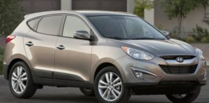 Hyundai Tucson car auto insurance