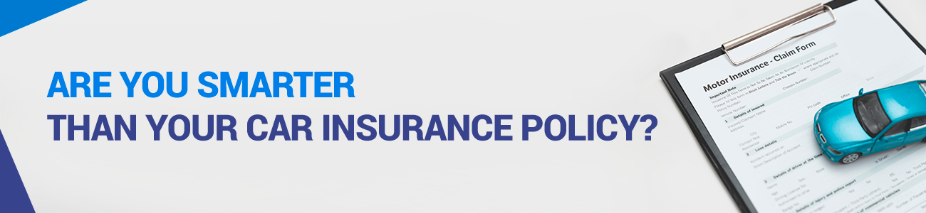 Header for article examining car insurance readability scores, rates of satisfaction, price of coverage by reading of policies.