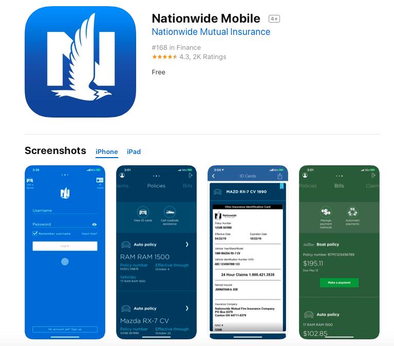 app store nationwide app