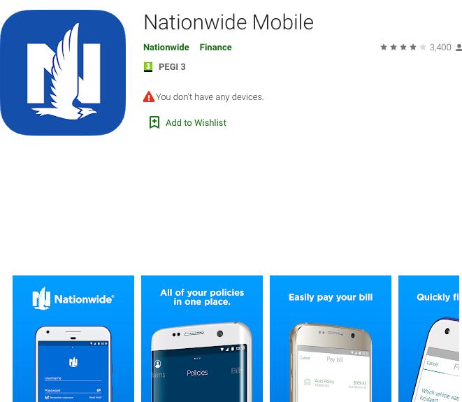 google play nationwide app